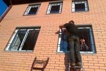 Монтаж решеток в Саранске