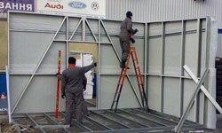 Строительство торговых павильонов в Саранске