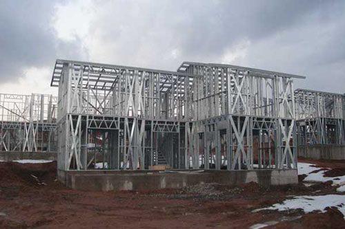 Здания на основе облегчённого металлического каркаса в Саранске